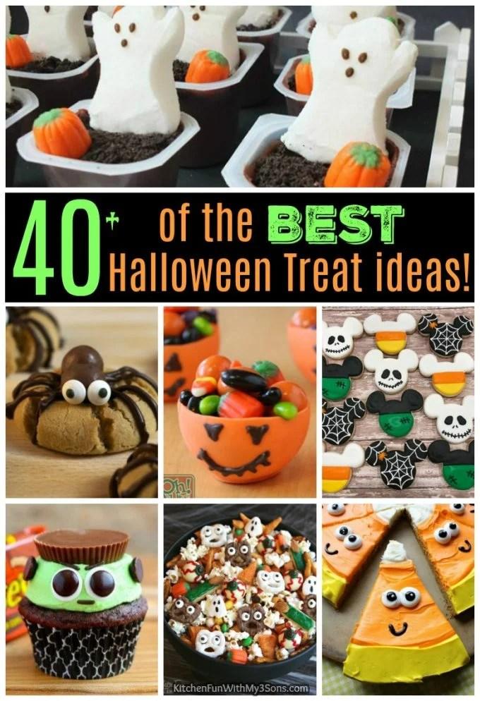 40 of the BEST Halloween Treat ideas  Kitchen Fun With
