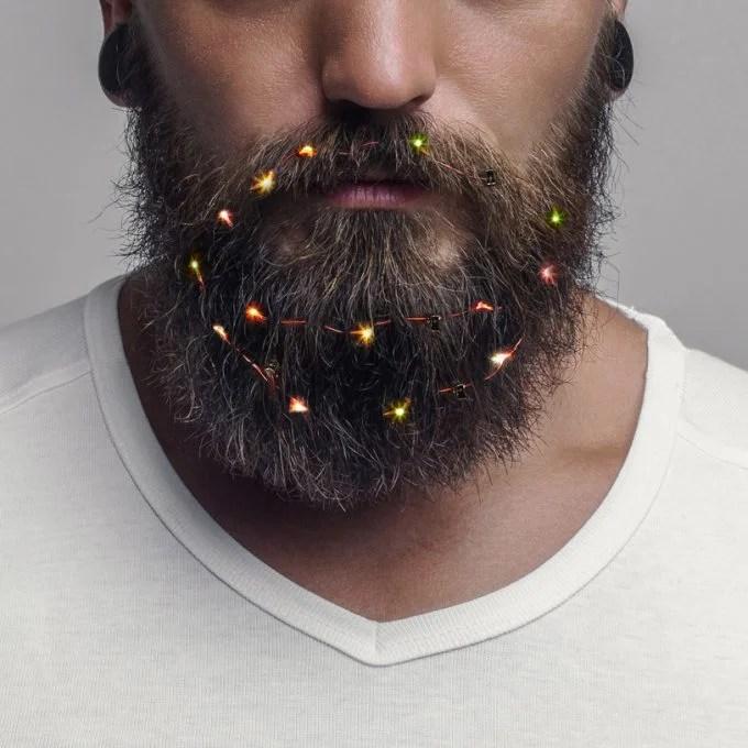 Christmas Lights for Beards
