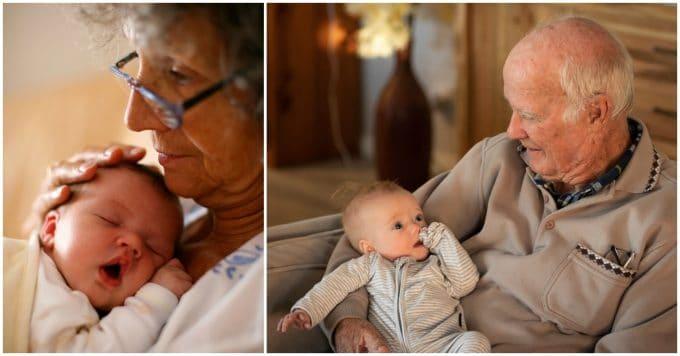 Studies confirm - Grandparents that babysit live longer