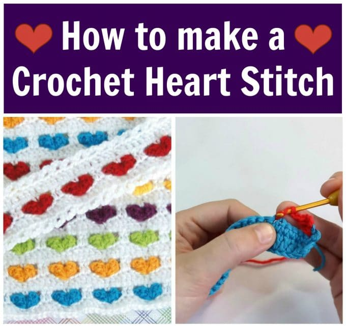How to Crochet a Heart Stitch