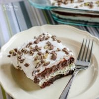 Andes Mint Brownie Lush