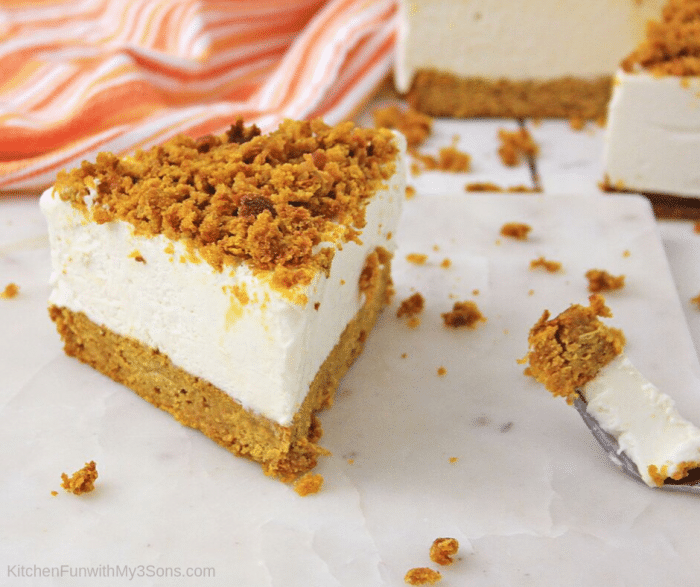 Pumpkin Bread Cheesecake