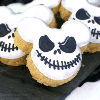 Rice Krispie Jack Skellington Treats