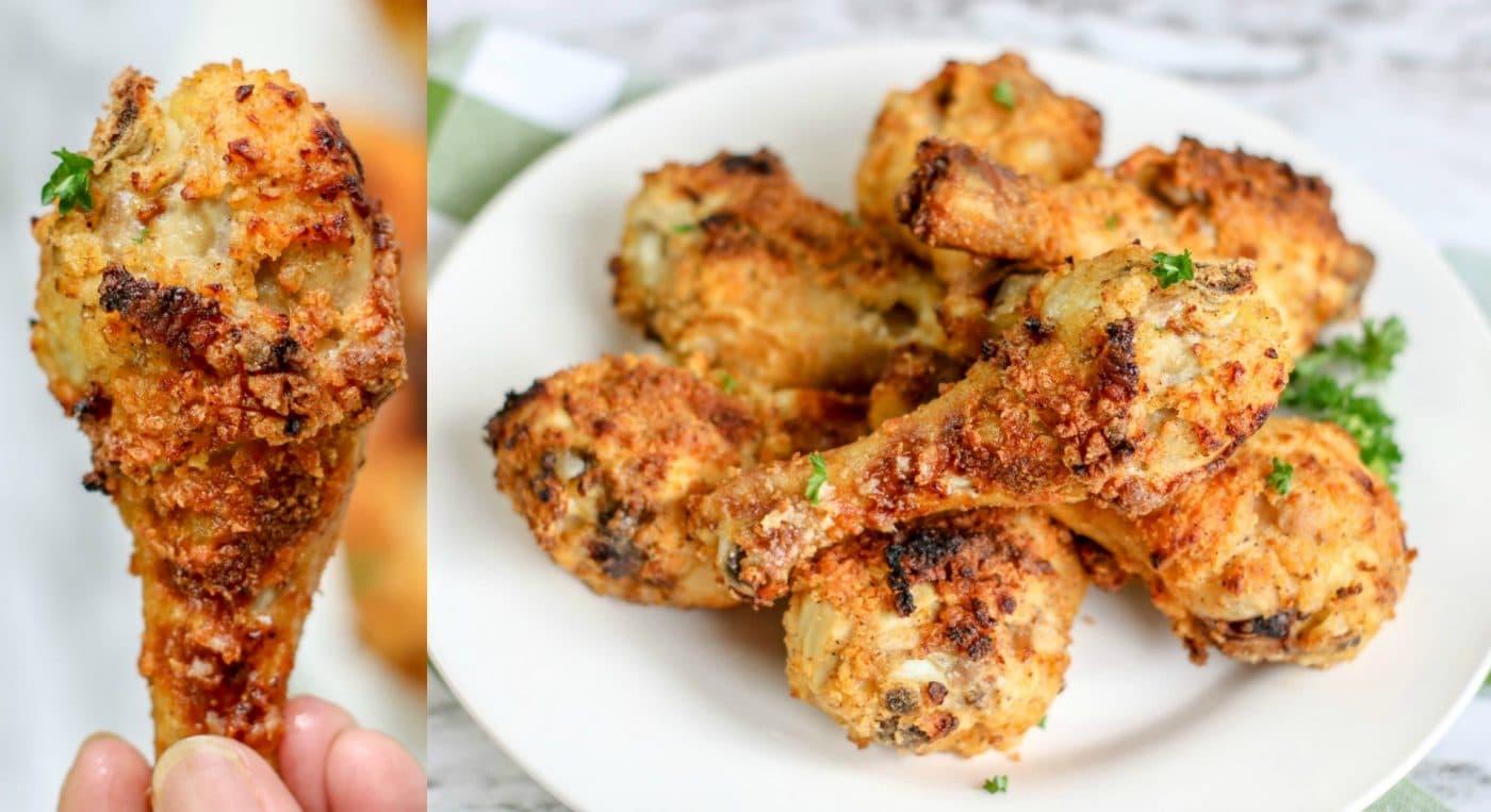 Buttermilk Air Fryer Chicken Legs Recipe Kitchen Fun With My 3 Sons