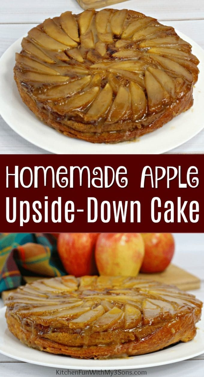 Homemade Apple Upside Down Cake