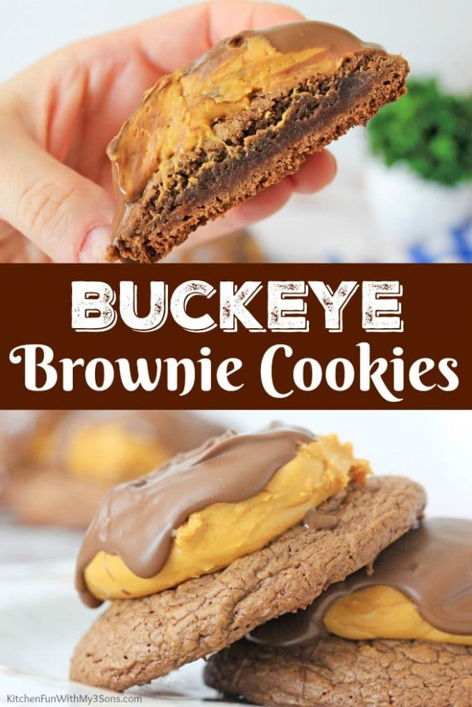 Buckeye Brownies Cookies