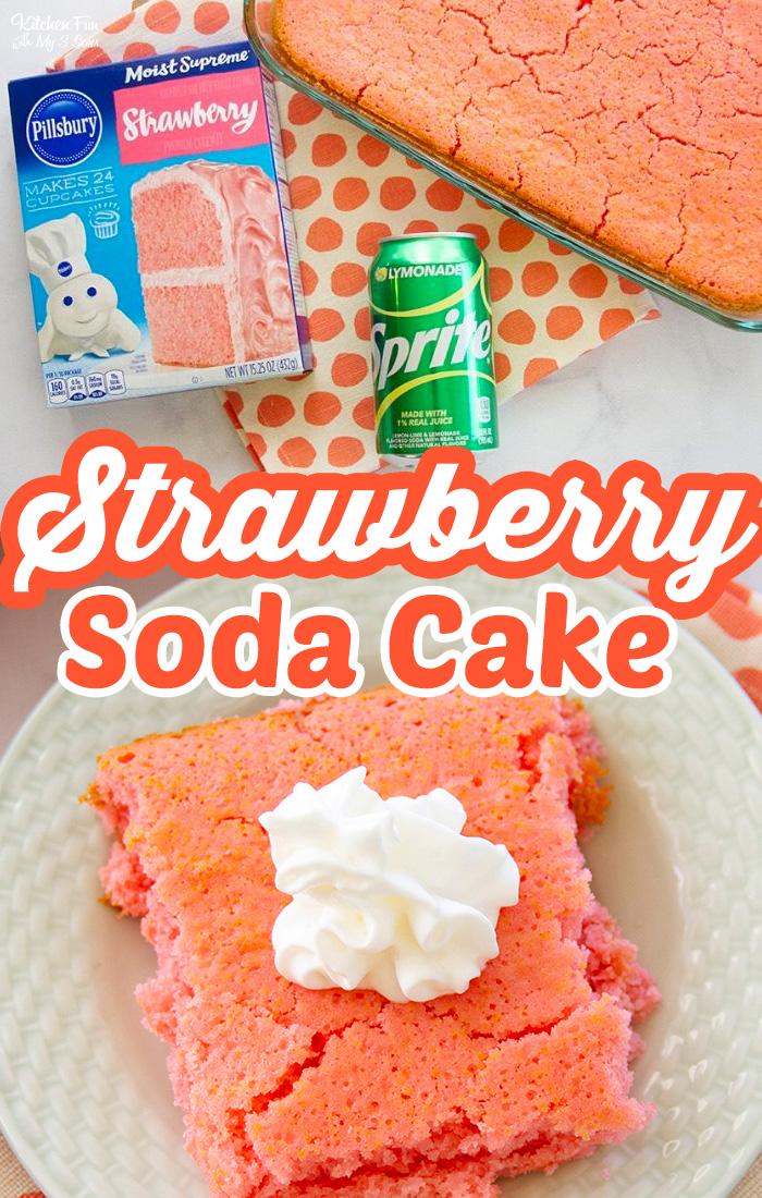 Strawberry Soda Cake Recipe