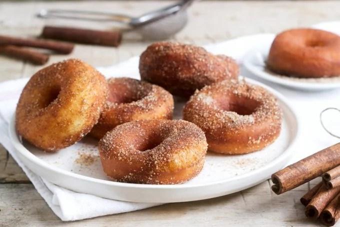 Air Fryer Cinnamon Donuts