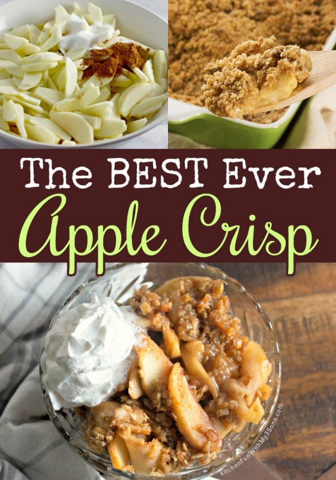 The BEST Apple Crisp Recipe