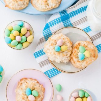Coconut Macaroons Recipe Easter Birds Nests