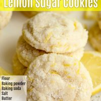 Homemade Lemon Cookies
