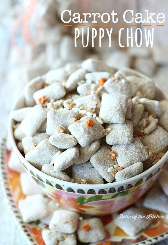 Carrot Cake Puppy Chow