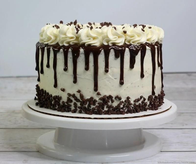 Bailey's Irish Cream Layer Cake