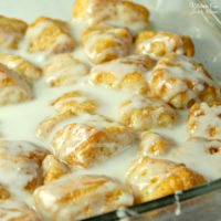 Cinnamon Roll Bites - 10 Minute Prep