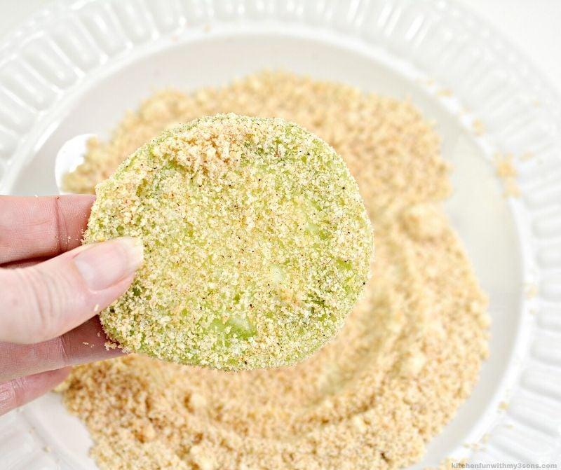 tomato in almond flour