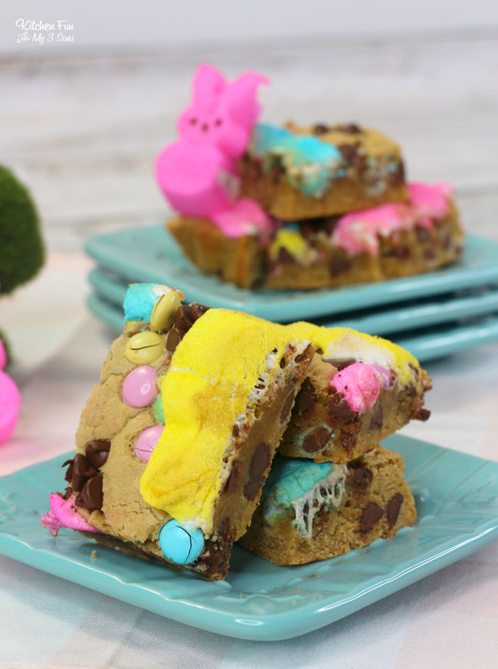 Peeps Cookie Bars for Easter