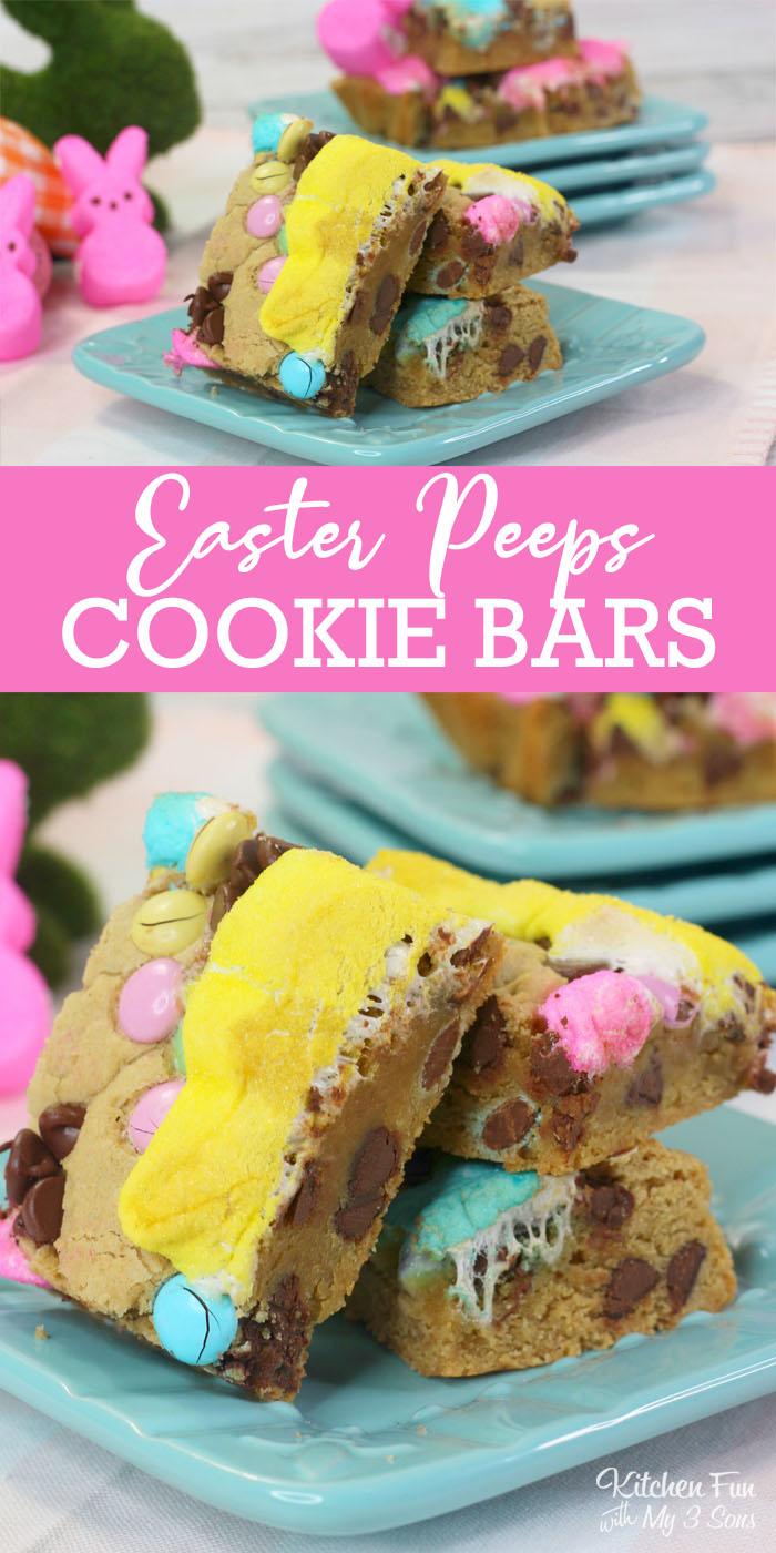 Peeps Cookie Bars