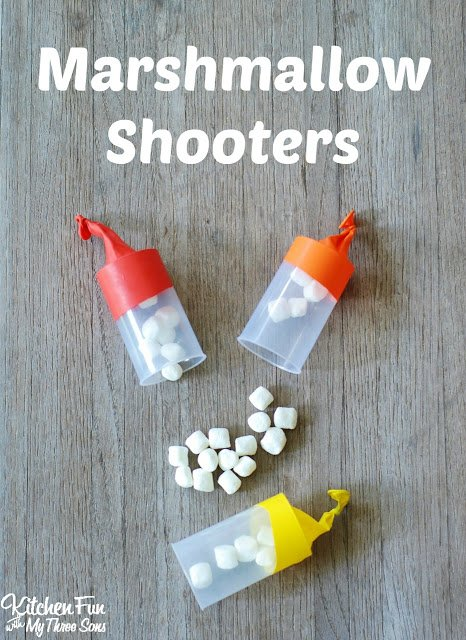 How To Make Marshmallow Shooters