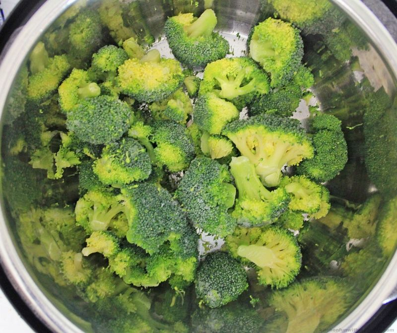 broccoli in the Instant Pot