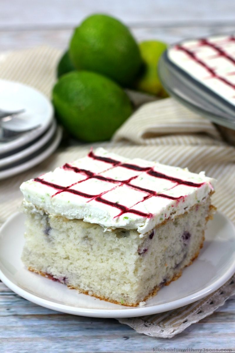 Blackberry Margarita Sheet Cake Recipe