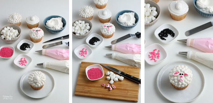 How to Make Spring Lamb Cupcakes for Easter