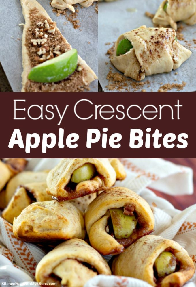 Easy Apple Pie Bites