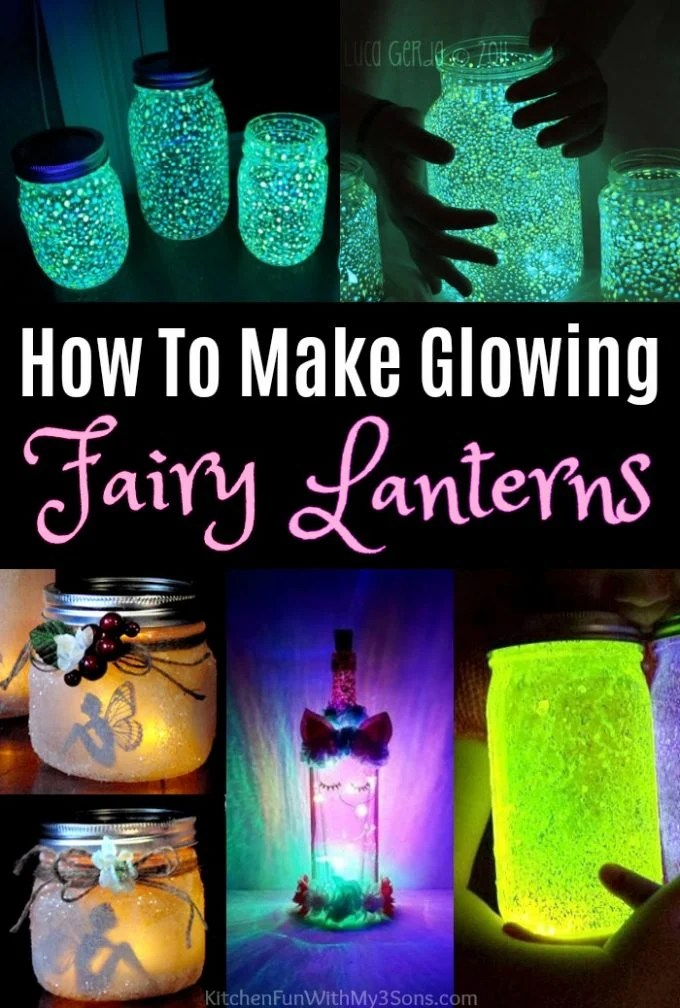 How To Make Glowing Fairy Lanterns