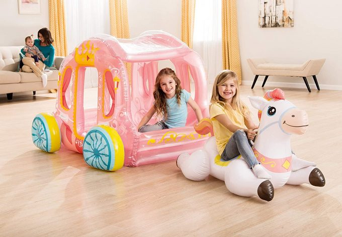 Inflatable Princess Carriage