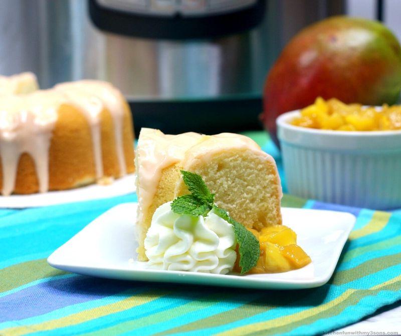 Instant Pot Mango Cake Recipe