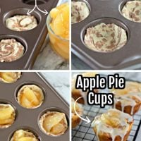 2-ingredient Apple Pie Cups