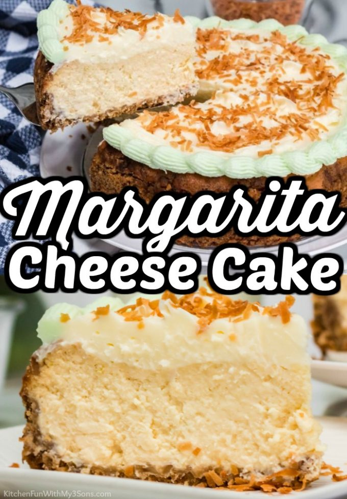 Margarita Cheesecake made in the Instant Pot