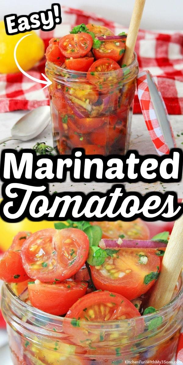 Marinated Tomatoes