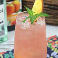 Best Ever Cuban Peach Cocktail