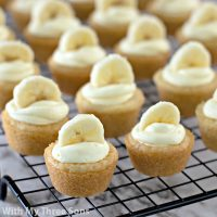 Banana Pudding Cookie Cups