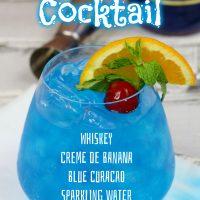 Blue Suede Shoes Cocktail