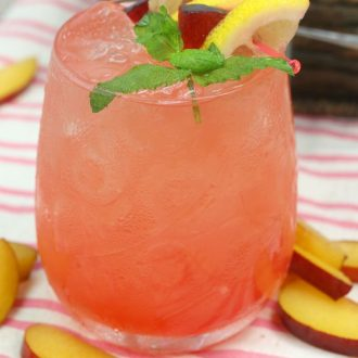 Plum Citrus Whiskey Smash