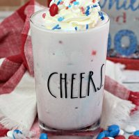 Boozy M&M Milkshake