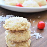 Pina Colada Cookies - with Rum Glaze