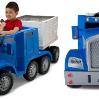 Battery Operated Semi-Truck