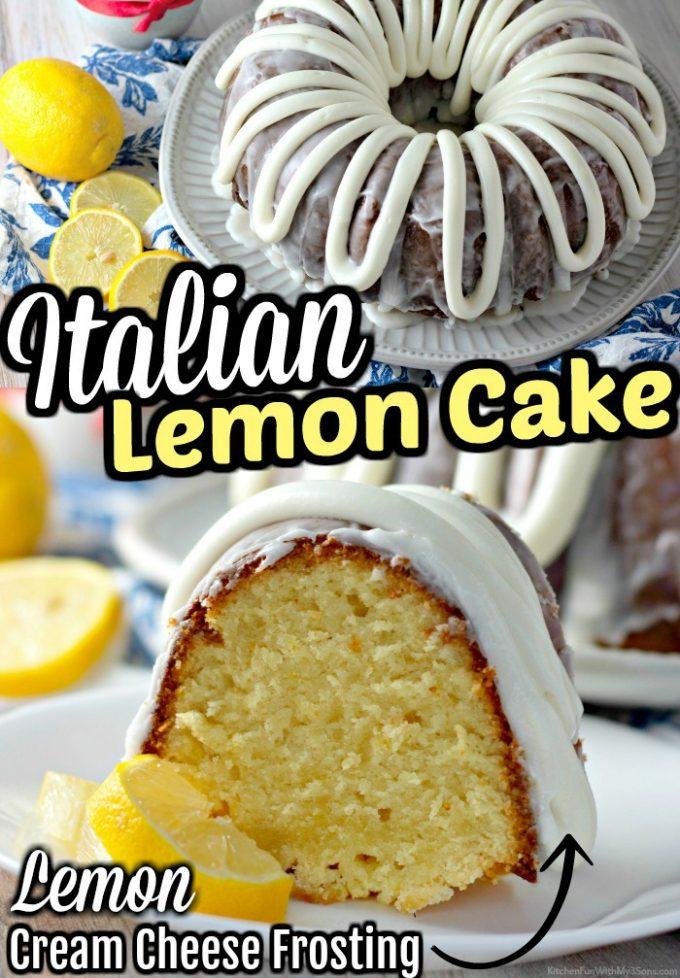 Italian Lemon Cake
