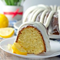 Italian Lemon Cake Recipe