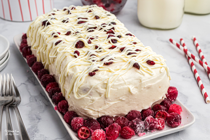 How To Make a Cranberry Pound Cake