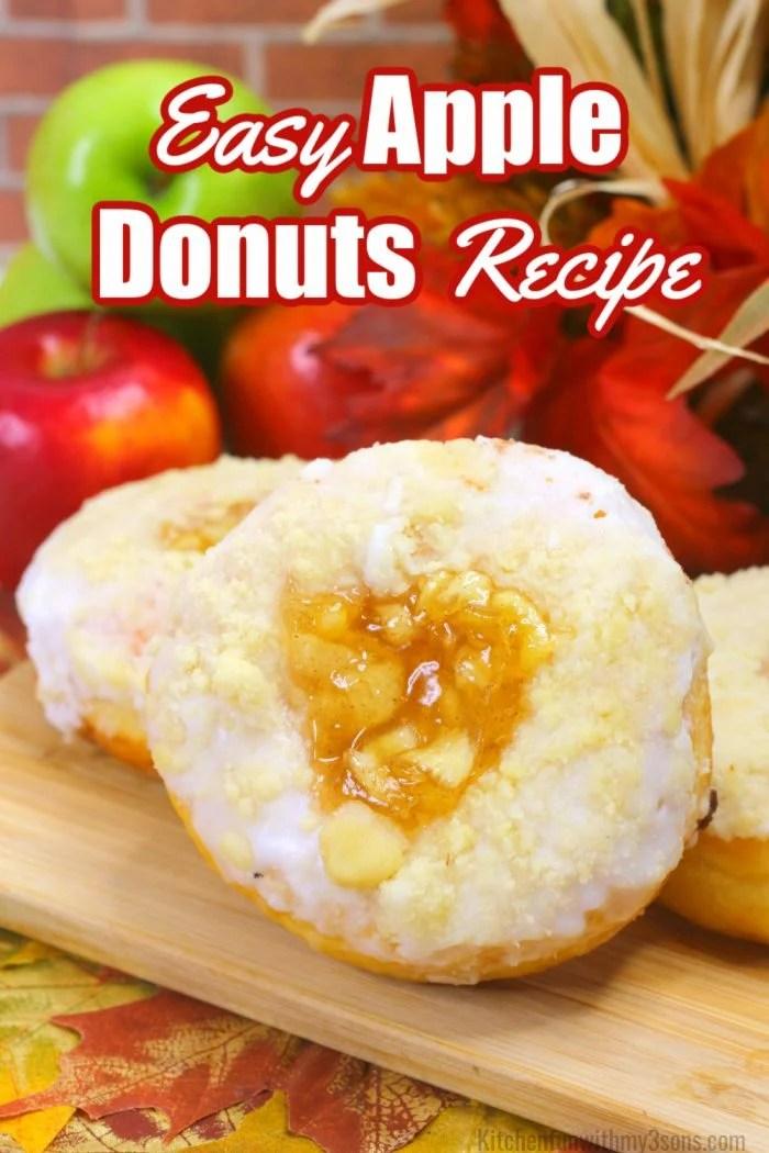 easy apple pie donuts