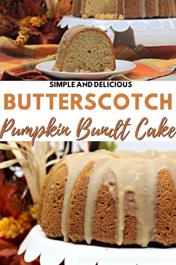 Butterscotch Pumpkin Bundt Cake