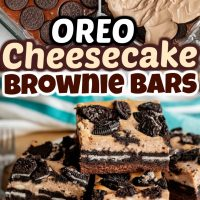 Oreo Brownie Cheesecake Bars
