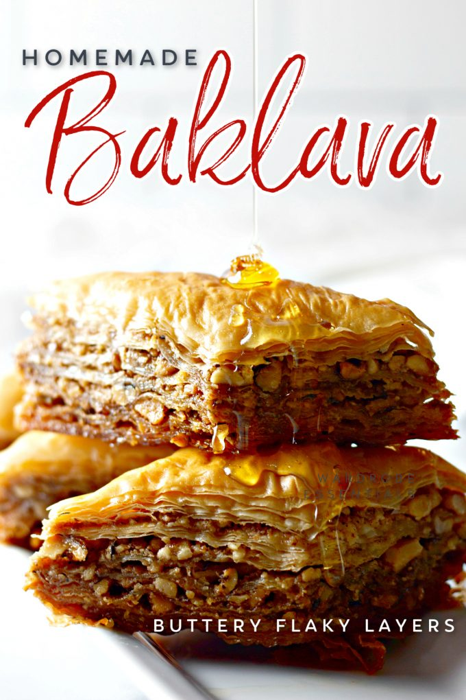 Classic Baklava Recipe on Pinterest