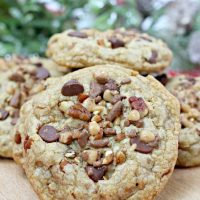 Chocolate Chip Toffee Pecan Cookies