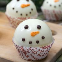 Snowman Hot Chocolate Bombs