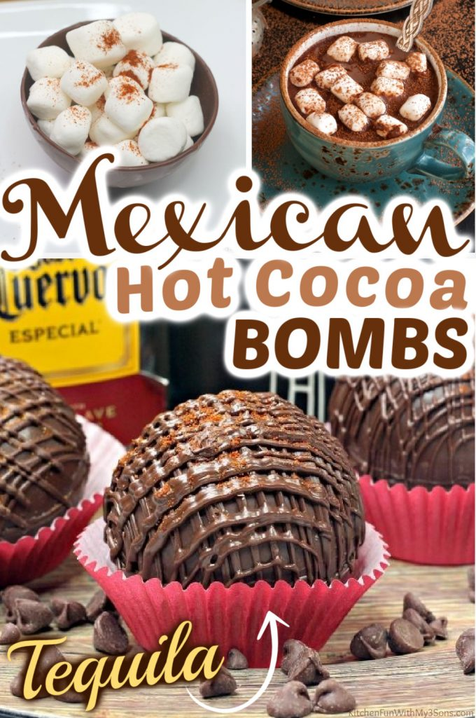 Mexican Hot Chocolate Bombs
