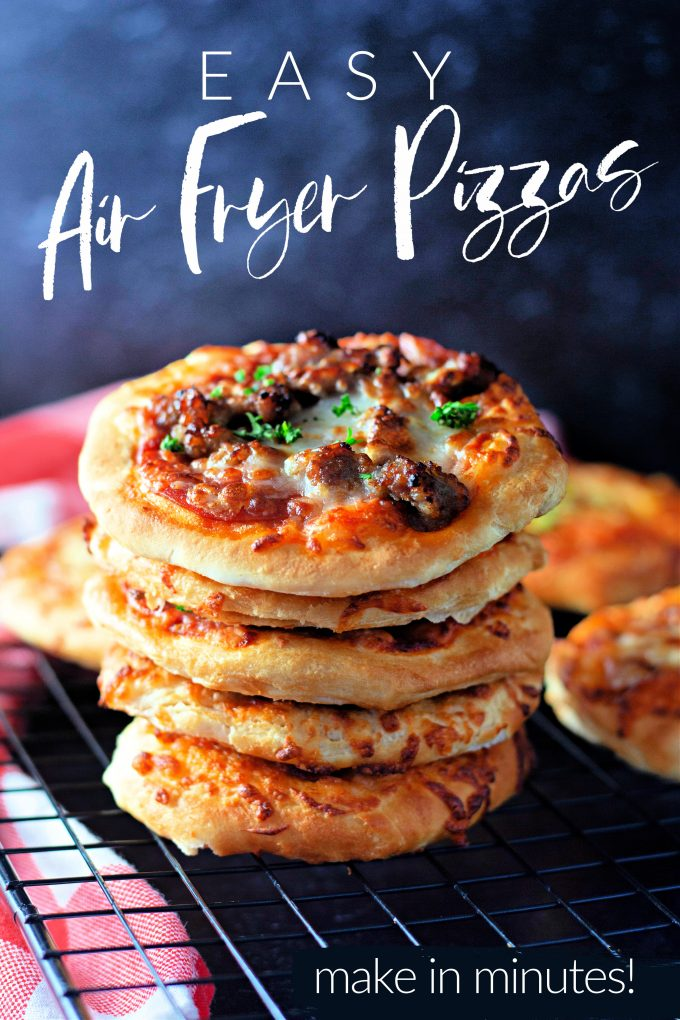 Easy Air Fryer Pizzas on Pinterest.